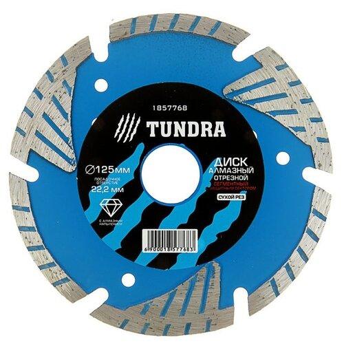 Диск алмазный отрезной TUNDRA 1857768, 125 мм 1 шт. недорого