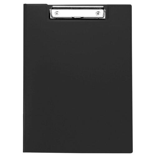 Купить OfficeSpace Папка-планшет с зажимом А4, пластик черный, Файлы и папки