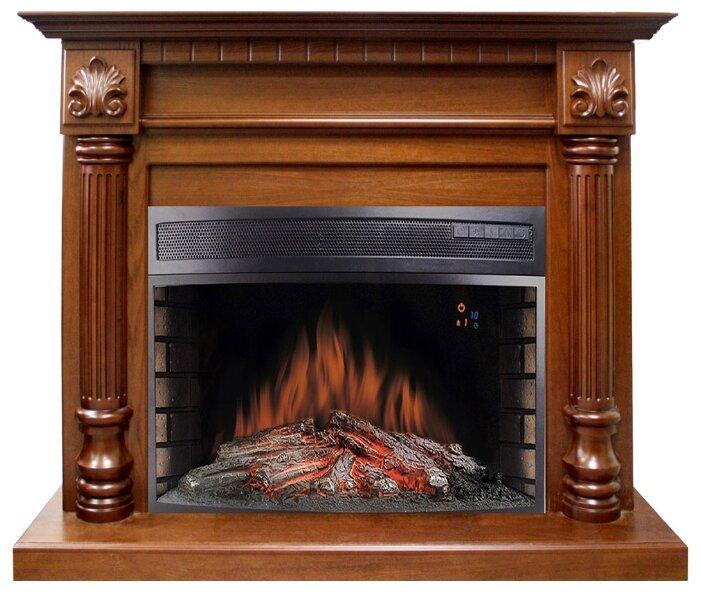 Электрический камин Royal Flame Dioramic 33 орех + Edinburg