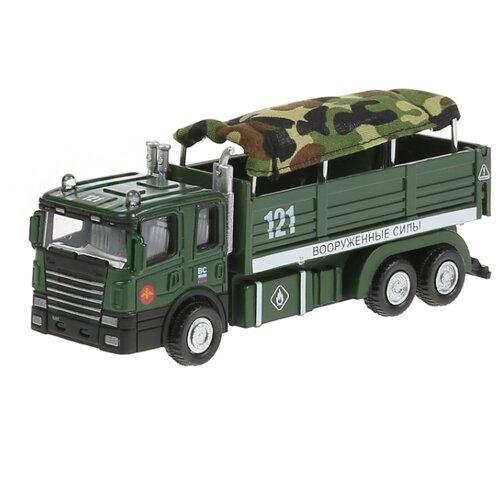 Купить Грузовик ТЕХНОПАРК 351A3-R (2020) 15.5 см зеленый камуфляж, Машинки и техника