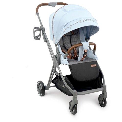 Купить Прогулочная коляска Happy Baby Luna blue, Коляски