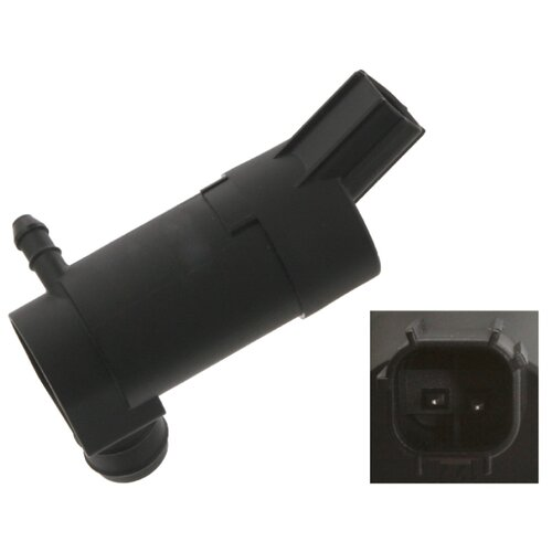 Мотор омывателя Febi 34864 черный 1 шт.