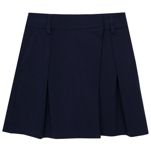 Купить Юбка-шорты Gulliver размер 170, синий, Юбки