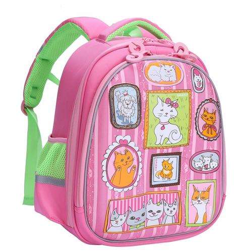Grizzly Рюкзак RAz-086-8, розовый рюкзак grizzly grizzly mp002xm23sic
