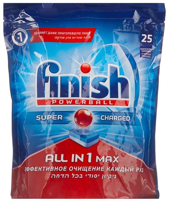 Finish All in 1 Max таблетки (original) для посудомоечной машины 25 шт.