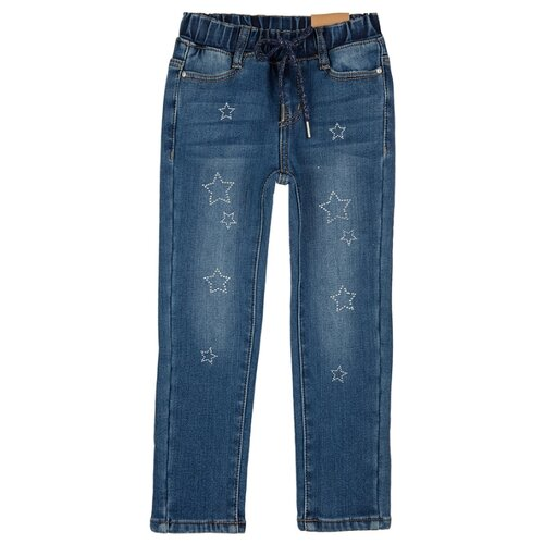 Джинсы playToday размер 110, синий джинсы playtoday размер 110 синий