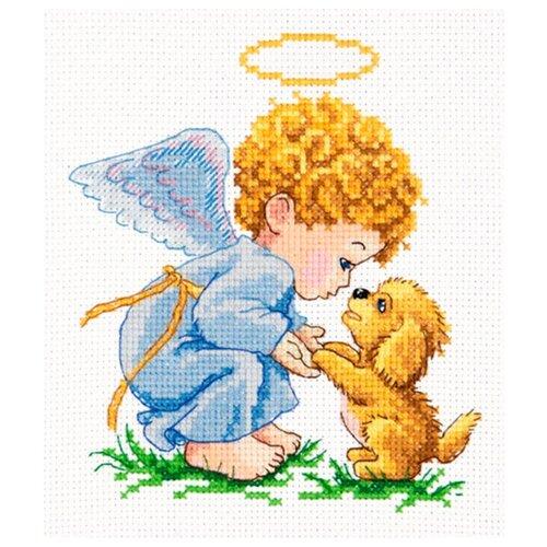 Чудесная Игла Набор для вышивания Мой добрый ангел 13 х 14 см (35-14) набор для вышивания крестом чудесная игла утопаю в любви 13 х 12 см