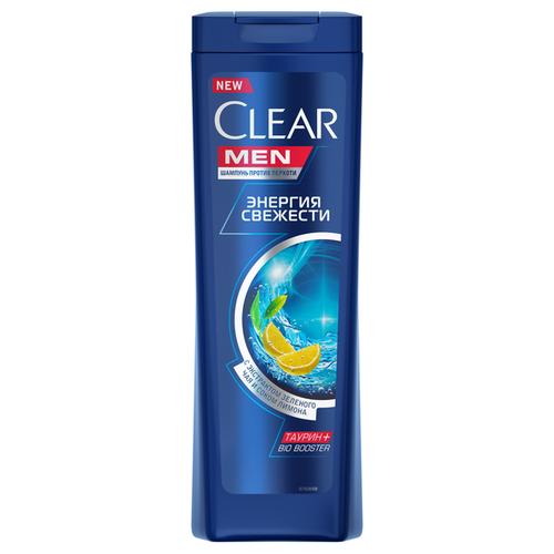 Clear шампунь против перхоти для мужчин Энергия свежести, 400 мл clear шампунь для мужчин 2 в 1