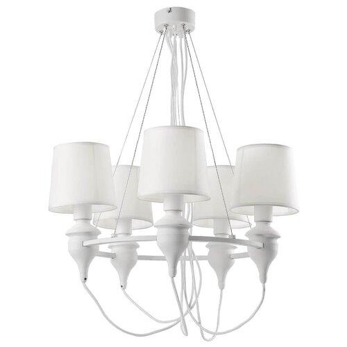 Люстра Arte Lamp Sergio A3326LM-5WH, E14, 200 Вт люстра arte lamp gracia a1528lm 5wh e14 200 вт