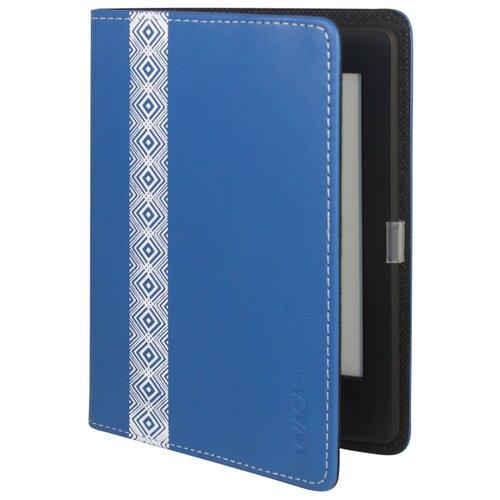 VIVACASE Кожаный чехол-обложка Romb для PocketBook 640/626/614/624/623/622 син.