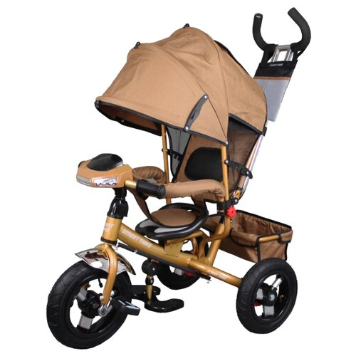 Купить Трехколесный велосипед Street trike A22-1D, бежевый, Трехколесные велосипеды