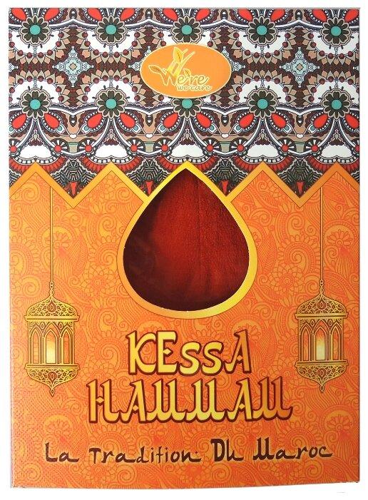 Мочалка We're We Care традиционная Марокканская рукавичка Кесса для пилинга и очищения кожи, средней жесткости