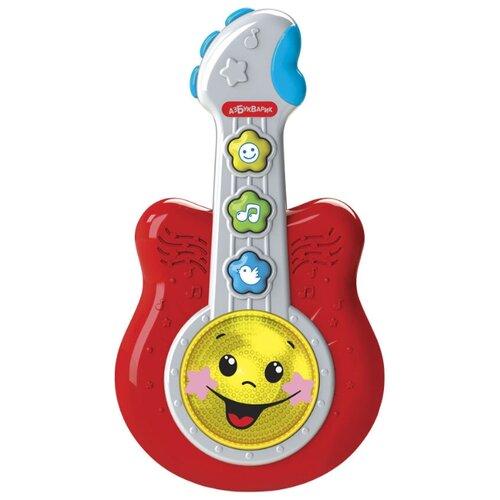 Купить Азбукварик гитара Маленький музыкант красный, Детские музыкальные инструменты