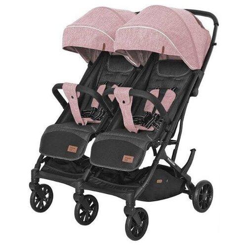 Купить Прогулочная коляска для двойни CARRELLO Presto Duo CRL-5506, cherry pink, Коляски