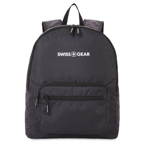 Рюкзак SWISSGEAR складной черный 21 л