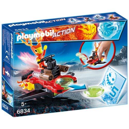 Купить Конструктор Playmobil Action 6834 Спарки с метателем дисков, Конструкторы