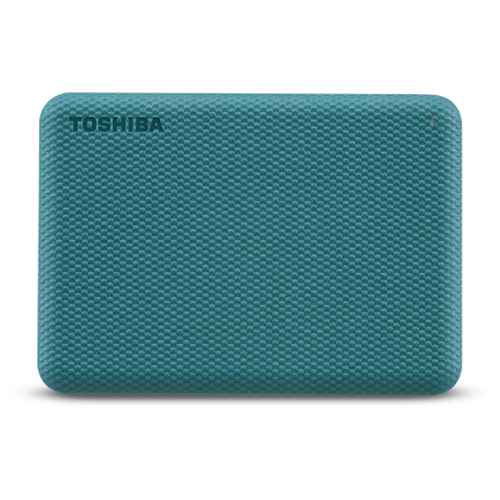 Фото - Внешний HDD Toshiba Canvio Advance 1 ТБ, зеленая клетка внешний hdd toshiba canvio gaming 2 тб черный