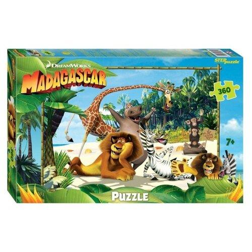Пазл Step puzzle Dreamworks Мадагаскар - 3 (96083), 360 дет. пазл step puzzle park