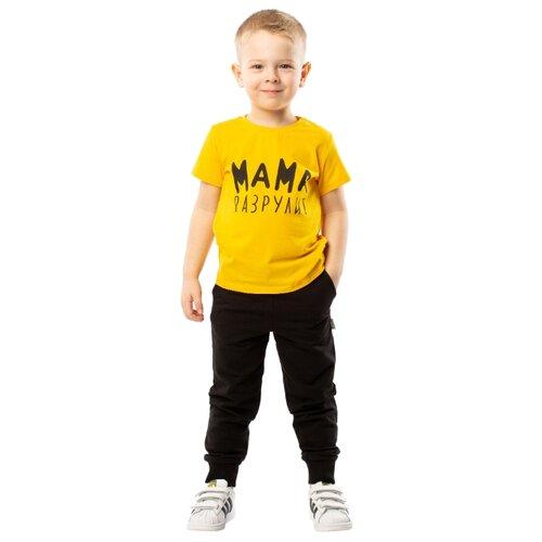 Футболка bodo размер 92-98, желтыйФутболки и рубашки<br>