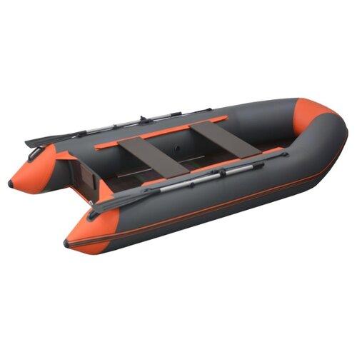 Фото - Надувная лодка Flinc FT320K графитово-оранжевый надувная лодка flinc ft340к зеленый