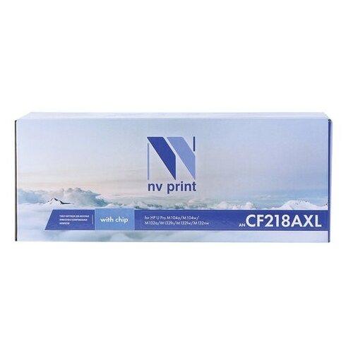 Фото - Картридж NV Print CF218AXL для HP, совместимый картридж nv print ce412a для hp совместимый