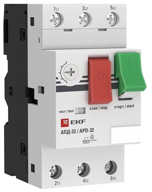 Софтстартер (устройство плавного пуска электродвигателя) EKF АПД-32 6-10А
