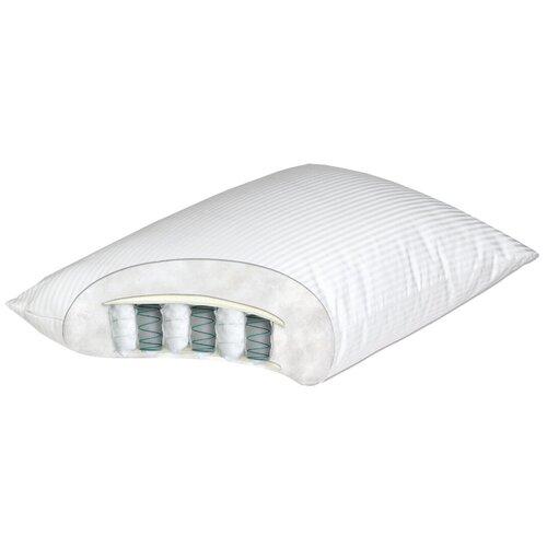 Подушка Аскона Mediflex Spring Pillow 50 х 70 см белый