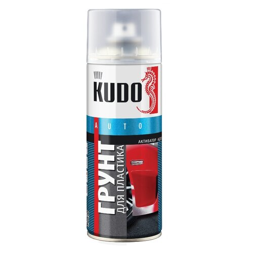 Аэрозольный грунт-наполнитель KUDO KU-6000 прозрачный 0.5 л
