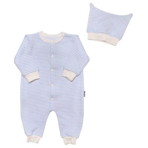 Купить Комплект одежды Клякса размер 22-74, голубой, Комплекты
