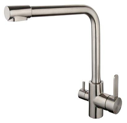 Смеситель для кухни (мойки) Gappo G4399-1 однорычажный нерж.сталь