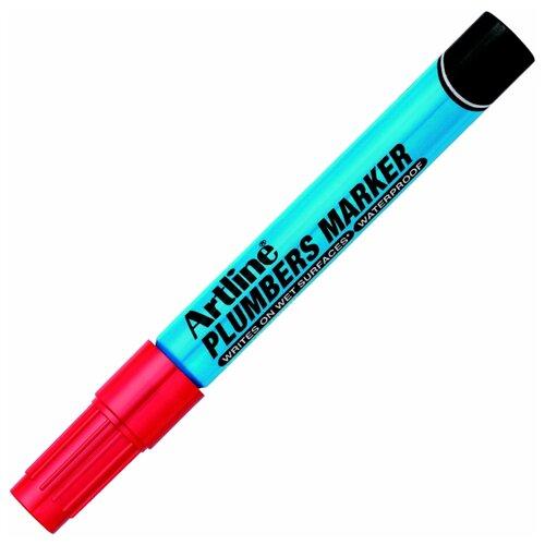Маркер сантехника Artline Plumbers Marker, красный