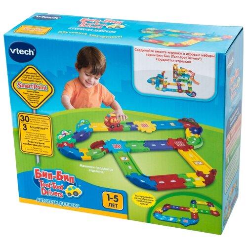 Трек VTech Бип-Бип Toot-Toot Drivers Делюкс (80-148126) машинка vtech бип бип toot toot drivers 80 180326 27 5 см голубой