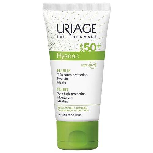 Uriage эмульсия Hyseac солнцезащитная, SPF 50, 50 мл, 1 шт цена 2017