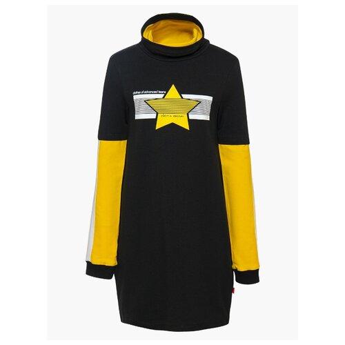 Купить Платье Nota Bene размер 158, черный, Платья и сарафаны