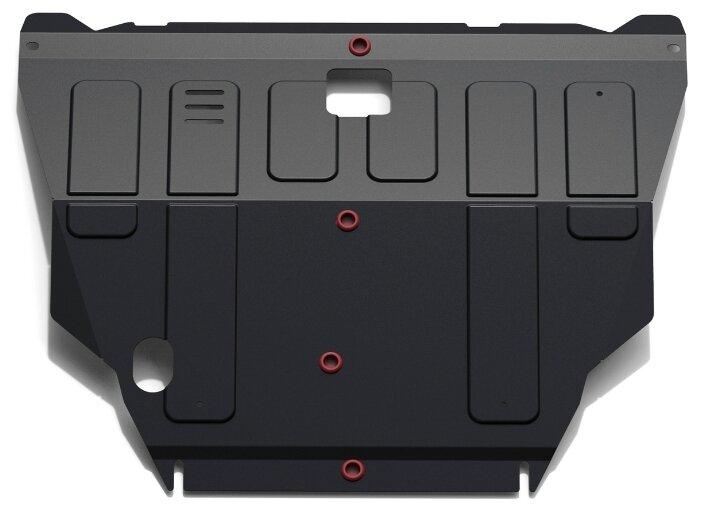 Защита картера двигателя и коробки передач Автоброня 111.04138.1 для Nissan