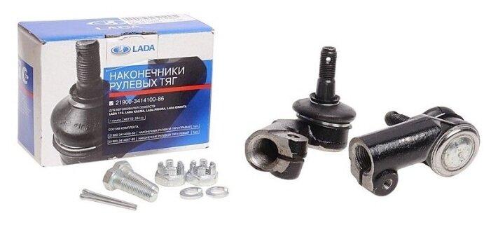 Наконечник рулевой тяги передняя правый LADA 21900341410086 для LADA Granta (2 шт.)