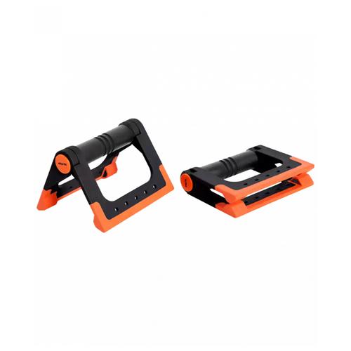 Упоры дуговые Starfit BA-304 черный/оранжевый упоры для отжимания starfit ba 304 black orange ут 00016658