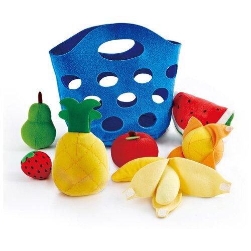 Набор продуктов Hape Toddler Fruit Basket E3169 синий