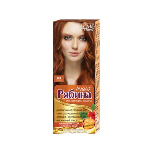 Фото - Acme-Color Avena Рябина стойкая крем-краска для волос , 583 Миндаль acme color intence рябина краска для волос 111 мокрый песок