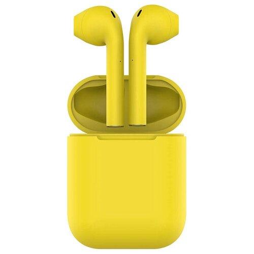 Фото - Беспроводные наушники HIPER TWS AIR Soft, yellow беспроводные наушники hiper tws air white