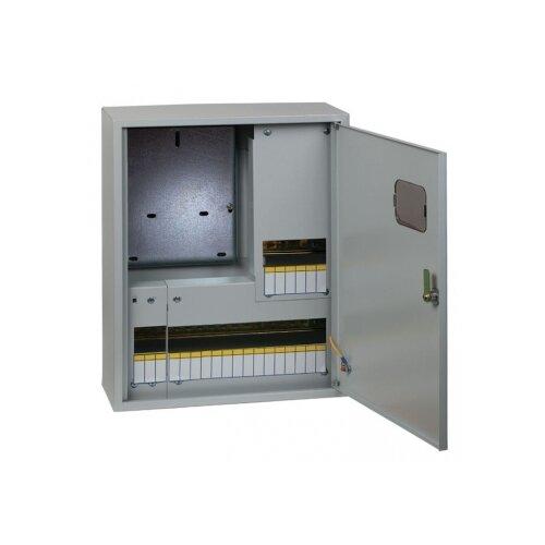 Фото - Щит учетно-распределительный EKF ЩУРн 3/24 (Э) IP31 навесной, металл, модулей 24 серый щит учетно распределительный ekf щурн 1 12 э ip31 proxima навесной модулей 12 серый