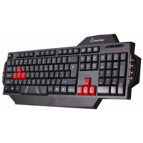 Игровая клавиатура SmartBuy SBK-201GU-K Black USB