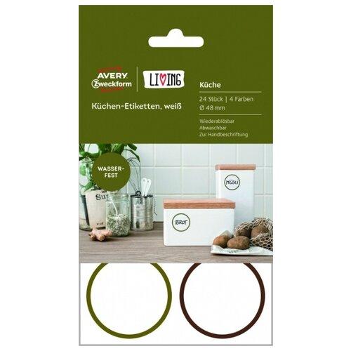 Фото - Этикетки для кухни Living, 48 мм, белые этикетки для кухни living 48 мм белые