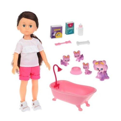 Купить Кукла Mary Poppins, Домашние питомцы, Николь, щенки, 36 см, 451356, Куклы и пупсы