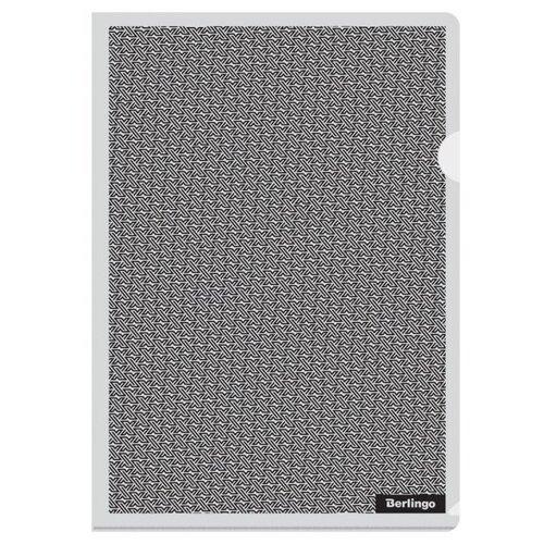 Berlingo Папка-уголок xFiles А4, пластик черный недорого