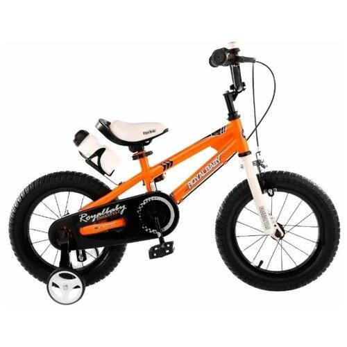 Фото - Детский велосипед Royal Baby RB18B-6 Freestyle 18 Steel оранжевый (требует финальной сборки) детский велосипед tong yue 2 3 6 8 12 14 16 18
