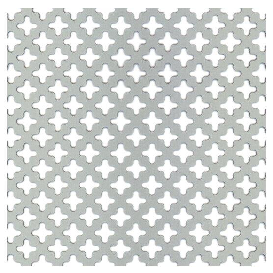 Лист перфорированный алюминиевый GAH ALBERTS 466893 500х250 мм