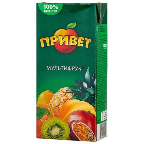 Напиток сокосодержащий Привет Мультифрукт, 0.95 л