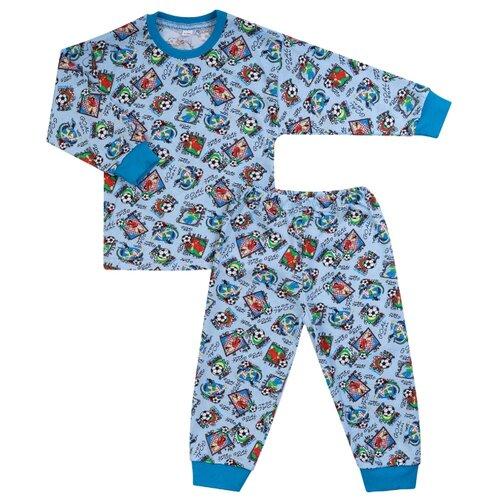 Пижама Утенок размер 122, голубой