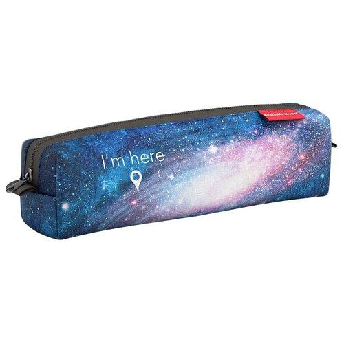 Купить ErichKrause Пенал квадро mini Space (44922) синий, Пеналы
